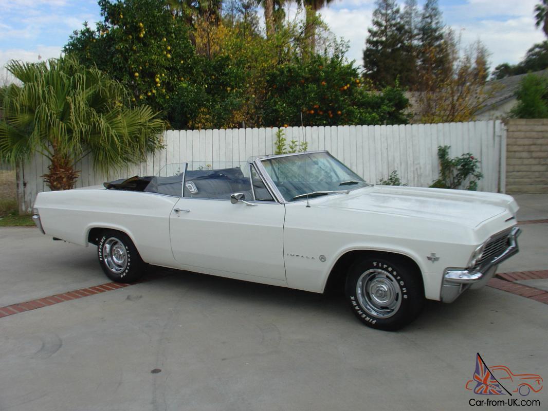 Chevy Impala Convertible 1962 1963 1964 1965 1966 1967 1968 1961
