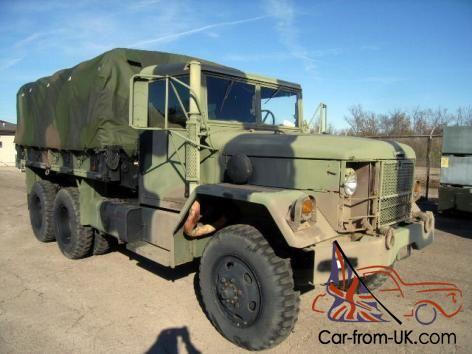 1989 AM General M35A2C Deuce and a half 2 5 Ton truck