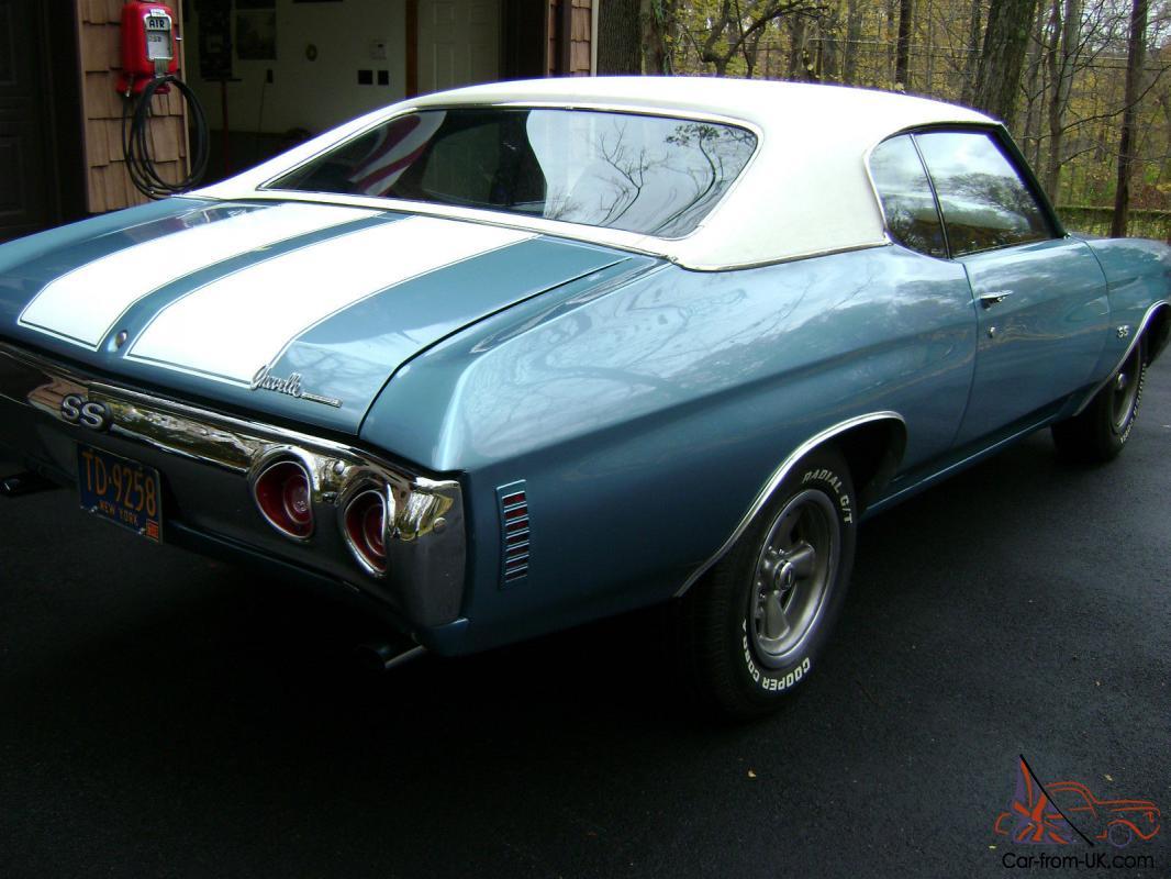 All Chevy 1971 chevrolet chevelle ss : Chevrolet Chevelle SS 396 / 300 LS3 Ascot Blue