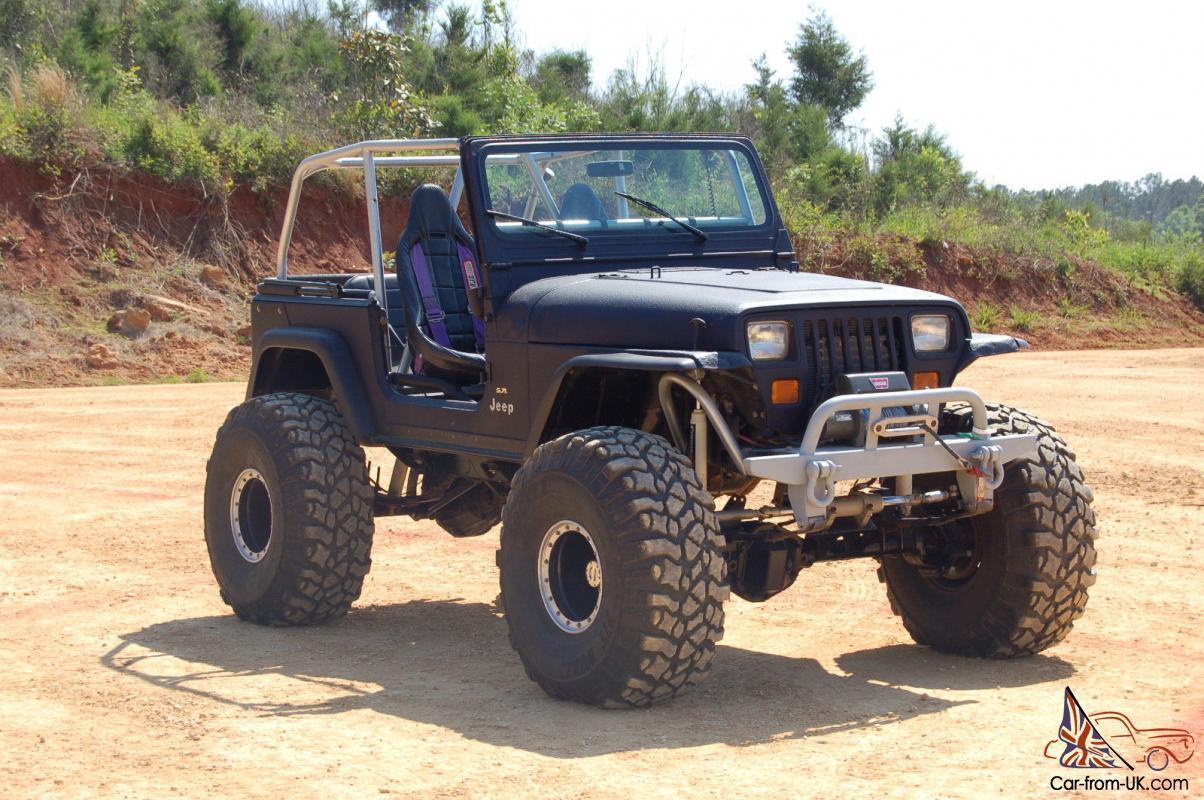 1989 Jeep Wranger YJ V8 Rock Crawler