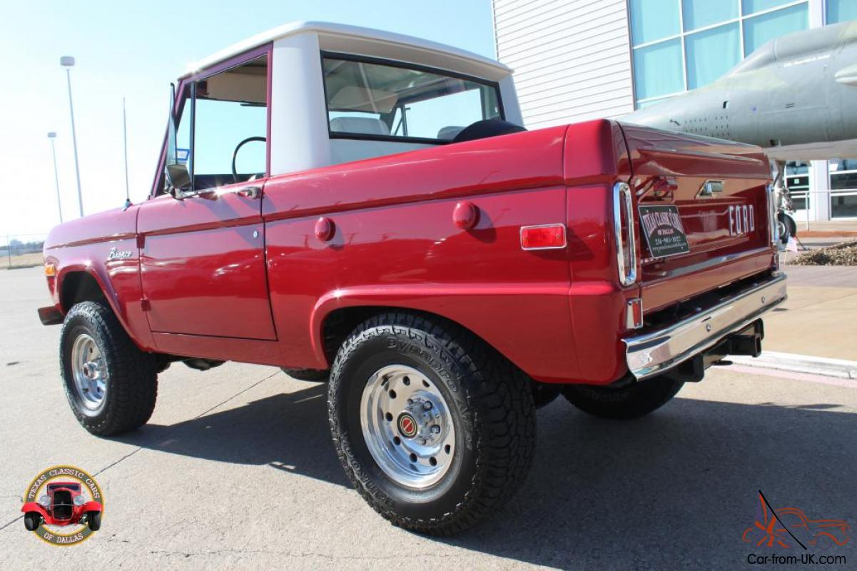 1972 Ford Bronco Pick Up