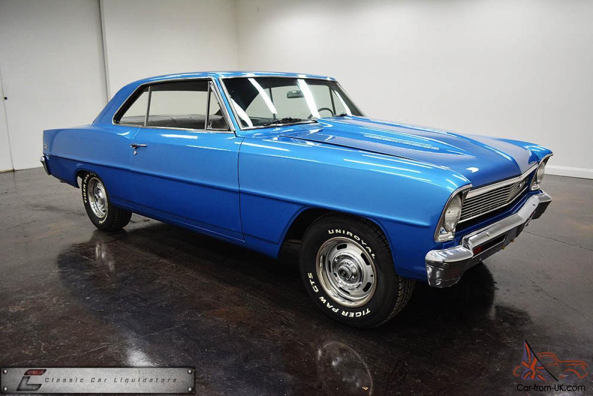 1966 Chevrolet Nova Super Sport Cool Car Look