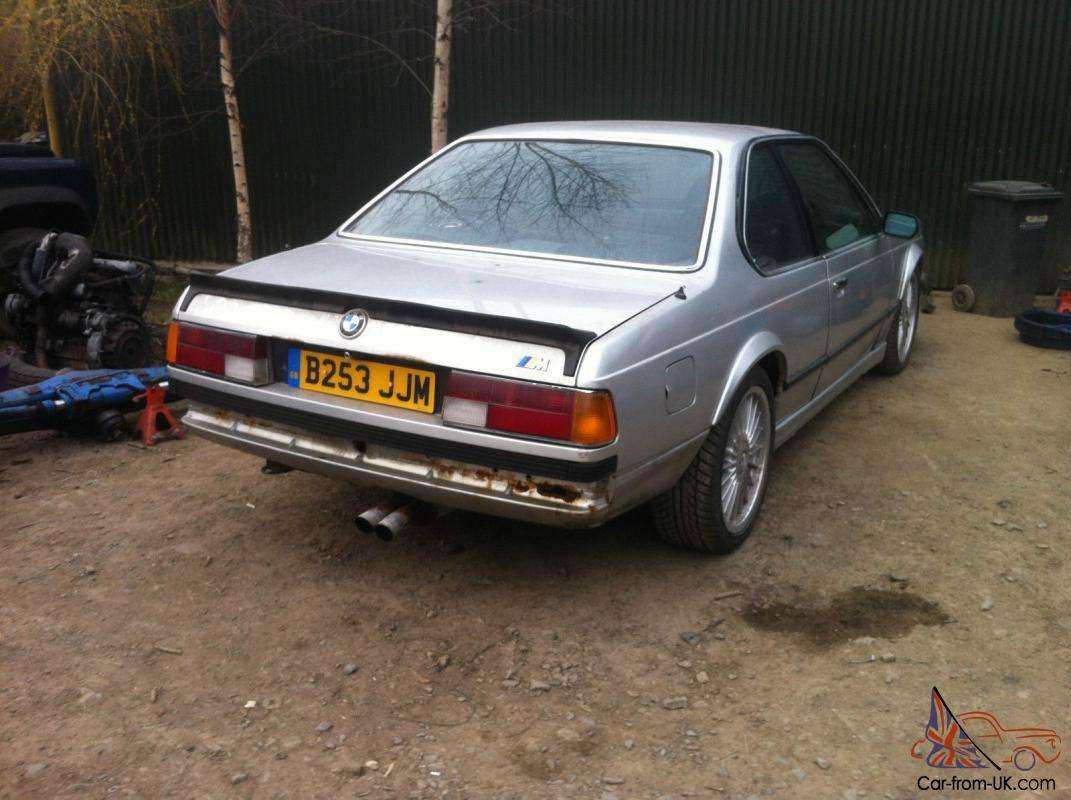BMW Convertible 1985 bmw m635csi M635 CSi M6 1985 E24