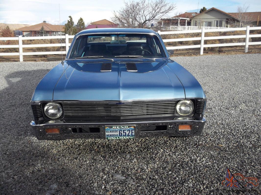1969 Nova 396 402 4 Speed 12 Bolt Bucket Seats For Sale
