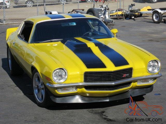 1971 Chevrolet Camaro in Z-28 trim - LT-1 engine - 700 R4 trans-Corvette  rearend