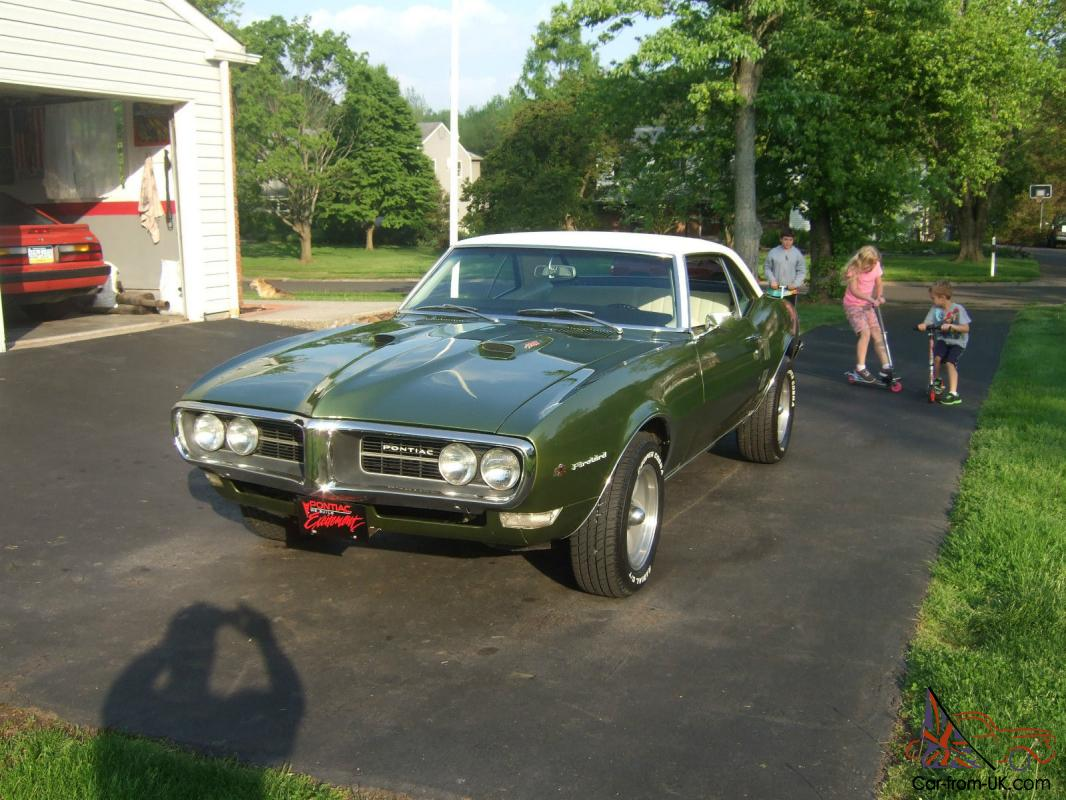 1968 Pontiac Firebird 400, 4 speed, posi rear, Restored!
