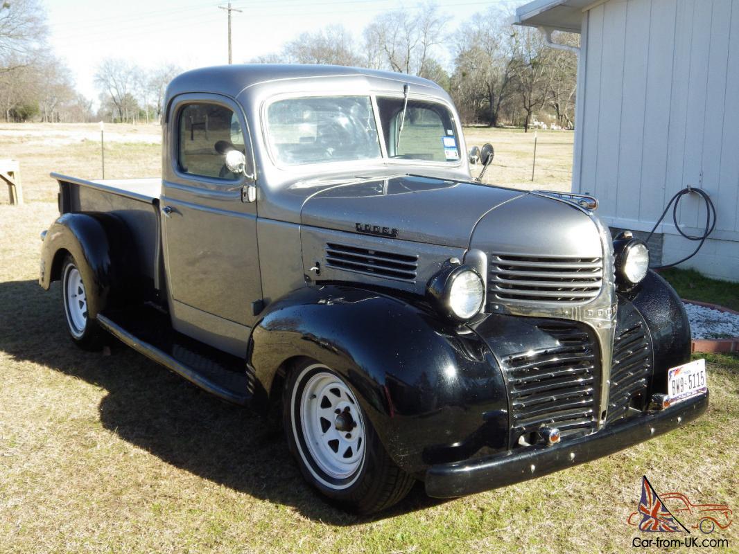 1940 Dodge Pk 1 2 Ton Truck
