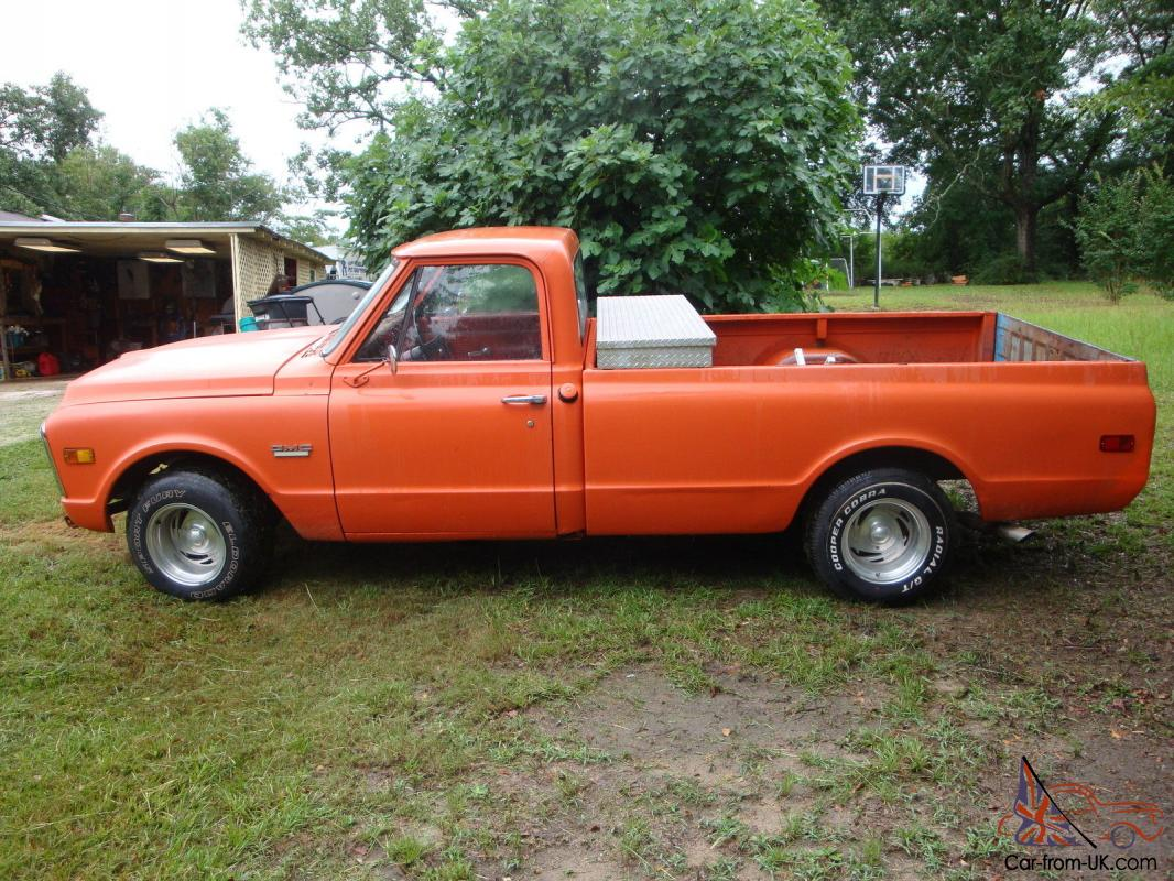 1970 Gmc C 1500 Long Bed 67 68 69 70 71 72 Chevy Chevrolet