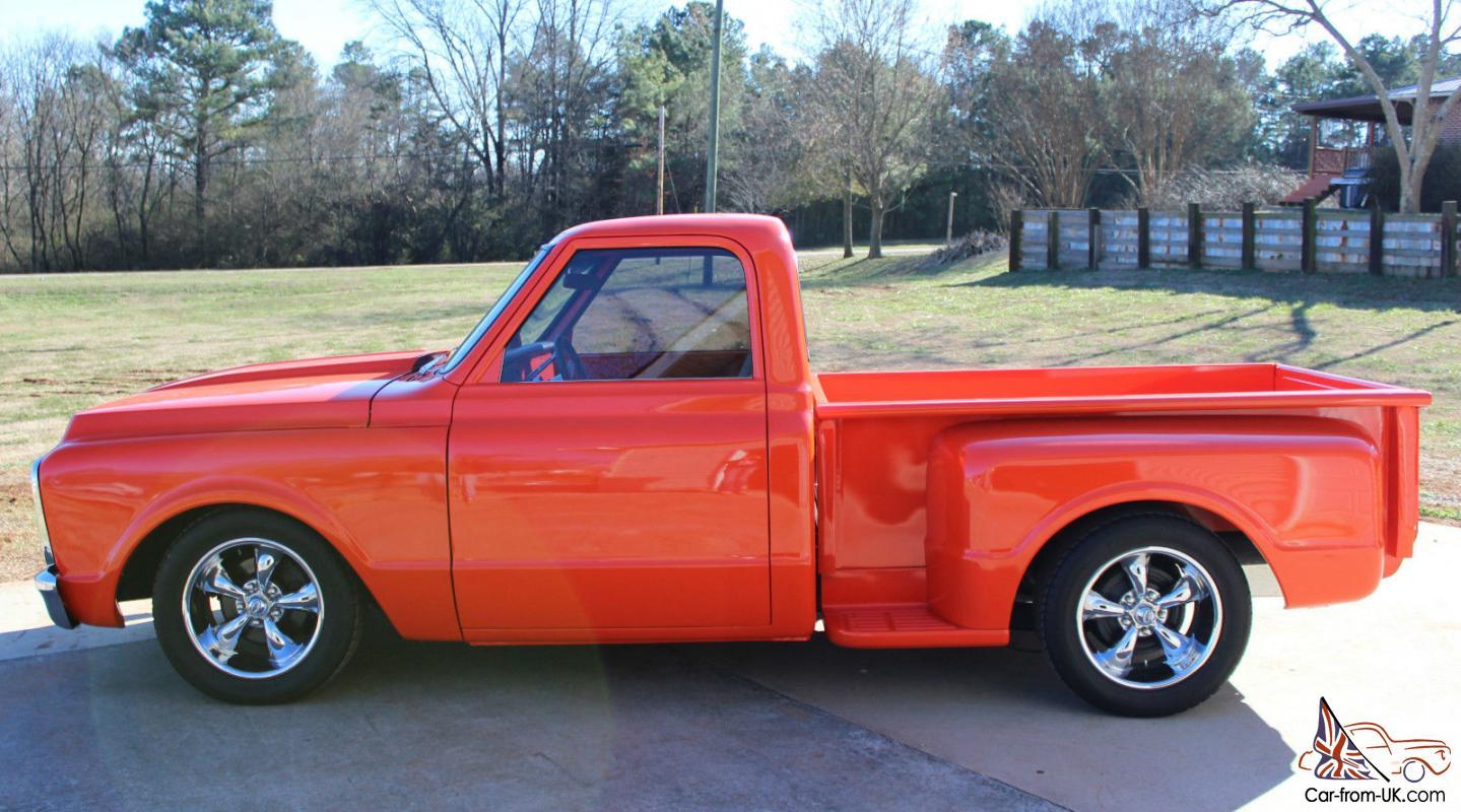 1970 Chevy Pickup >> 1970 Chevrolet Hugger Orange Custom C10 Pickup