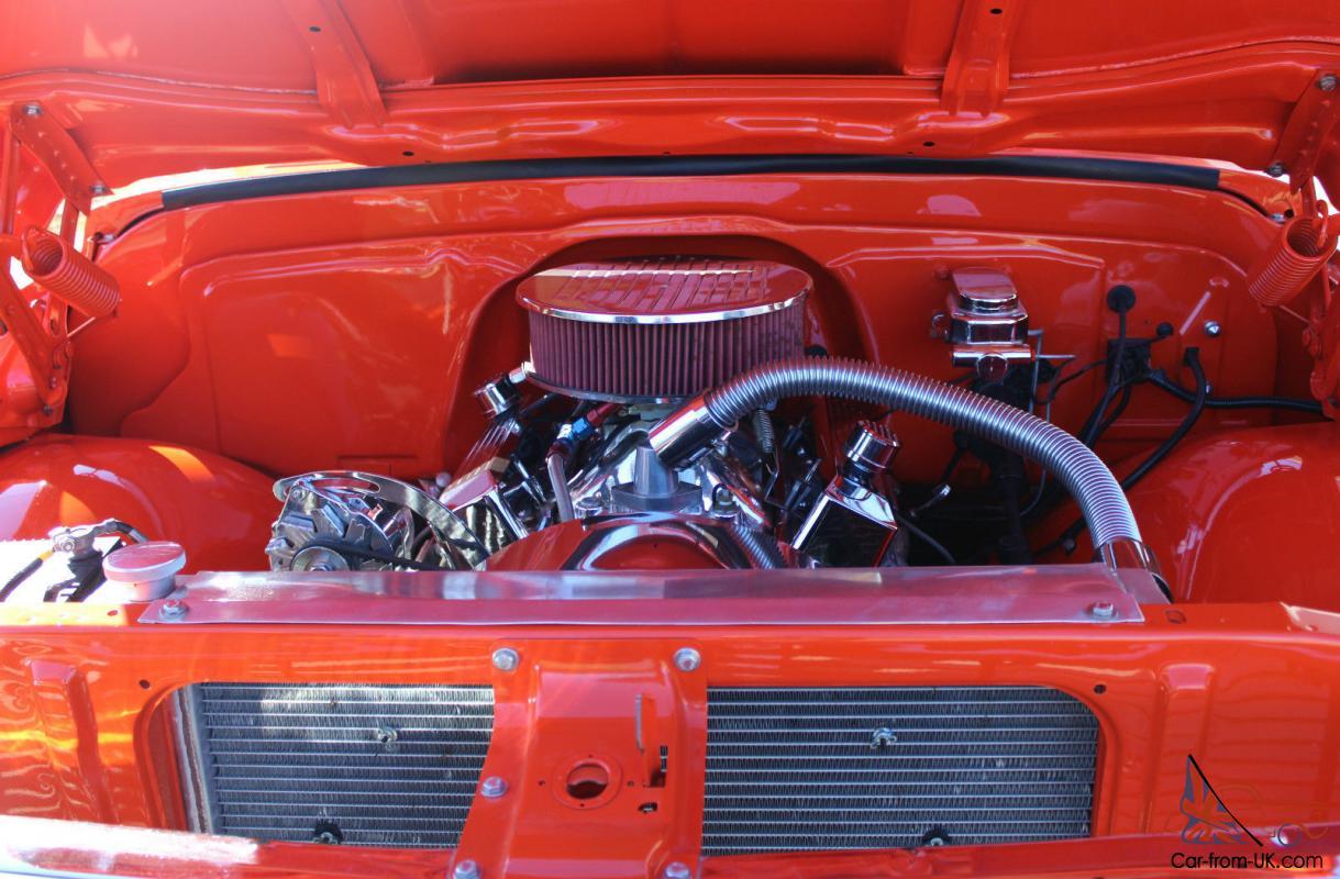 1970 Chevrolet Hugger Orange Custom C10 Pickup