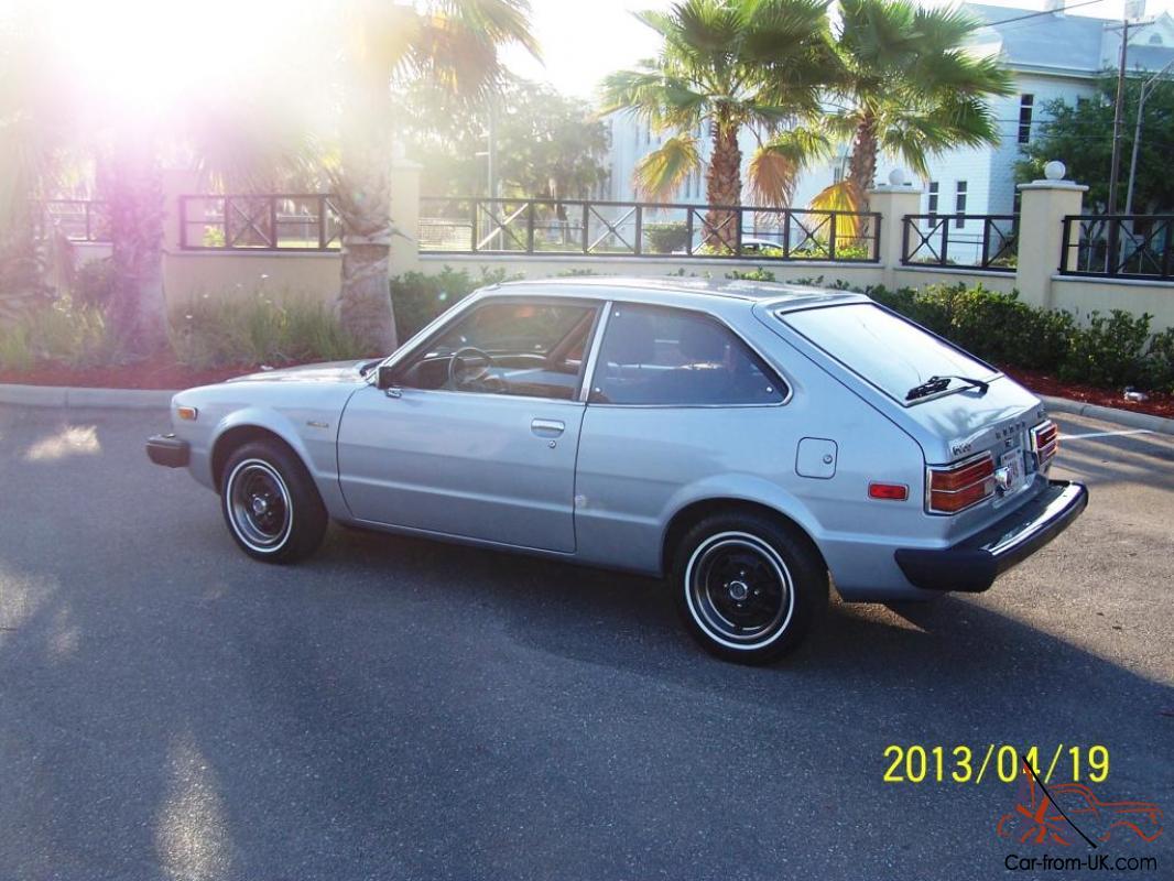 1979 Honda Accord LX Hatchback Collectors Condition 3-Door ...