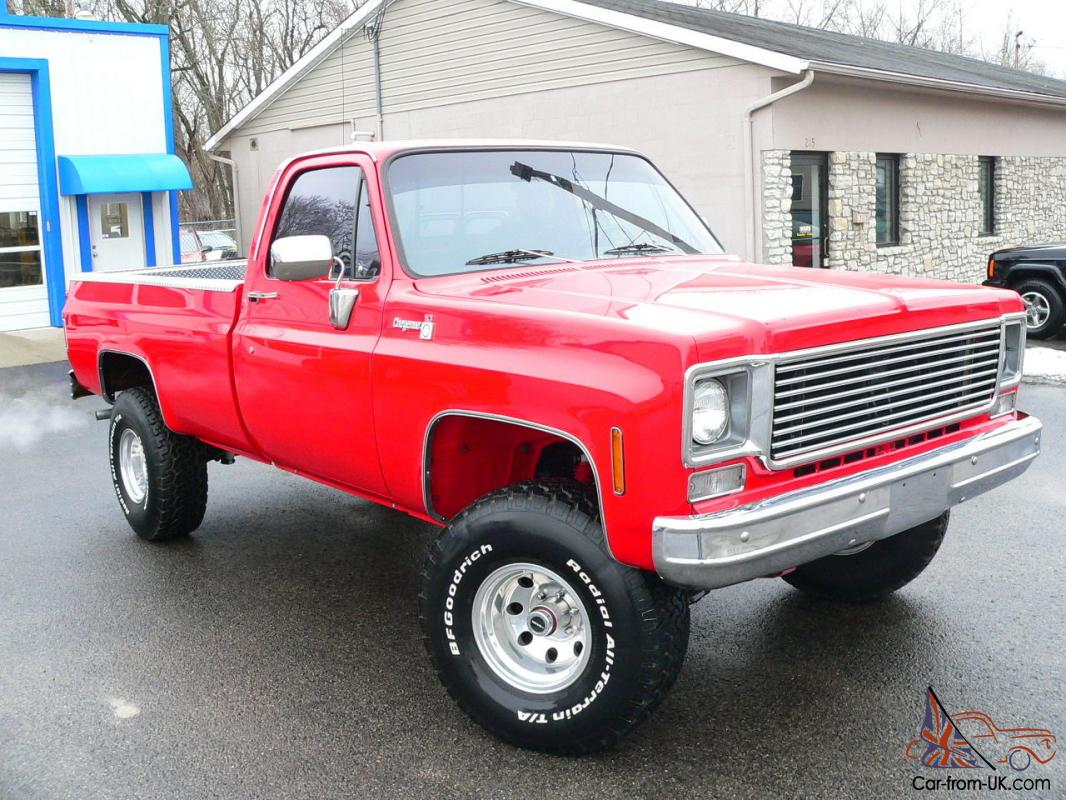 Frame Off Custom 4x4 Chevy Cheyenne Red Truck Best Of Everything 1968 C10 Lifted