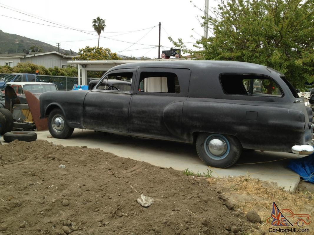 Packard Hearse Rat rod Hot rod project