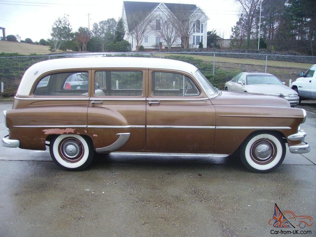 1954 Chevy Station Wagon VERY RARE CAR Original Running Gear Solid Car LOOK