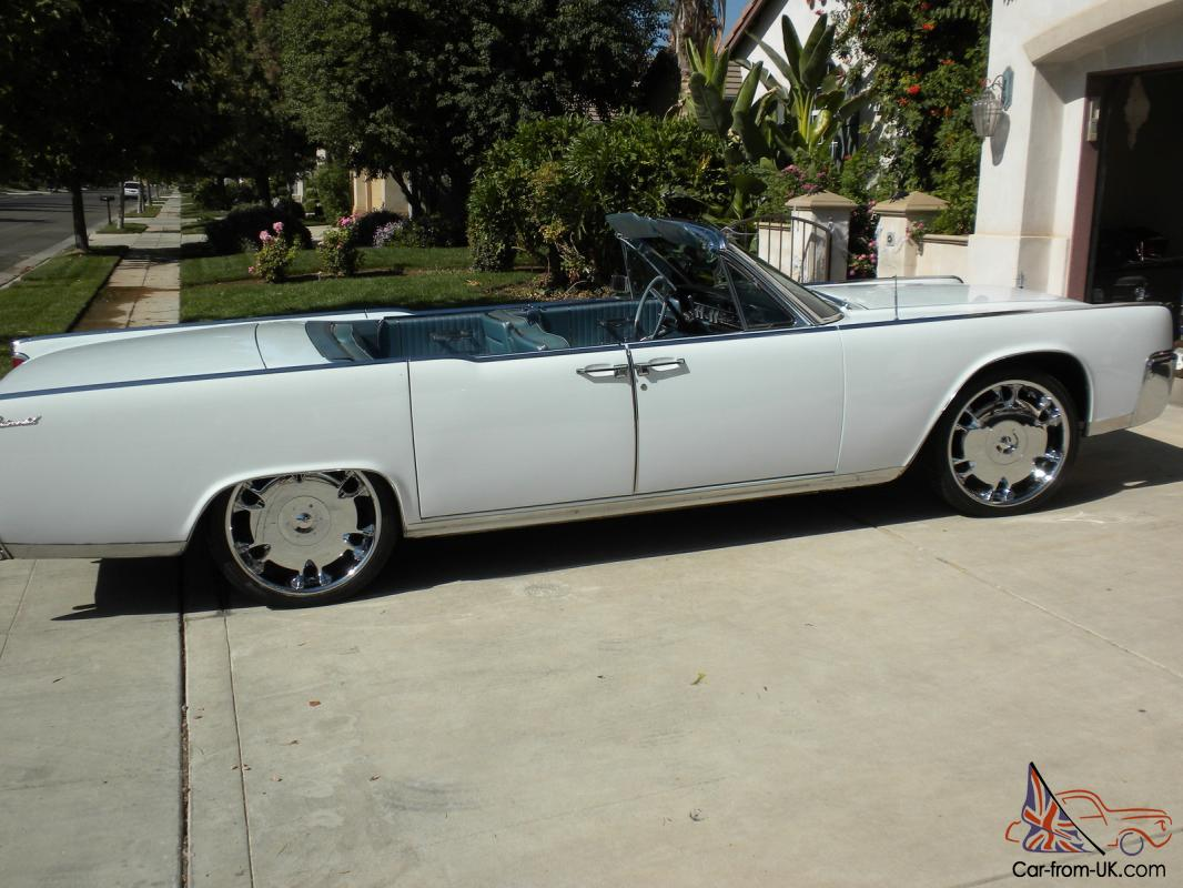 1964 Lincoln Continental Convertible American Classic Car Suicide Doors