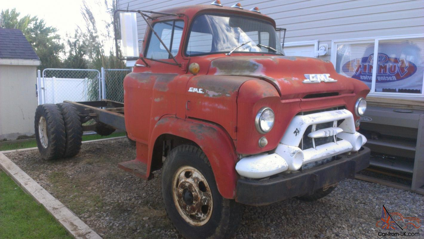 1958 Gmc Coe Cabover Lcf Low Cab Forward Stubnose Truck