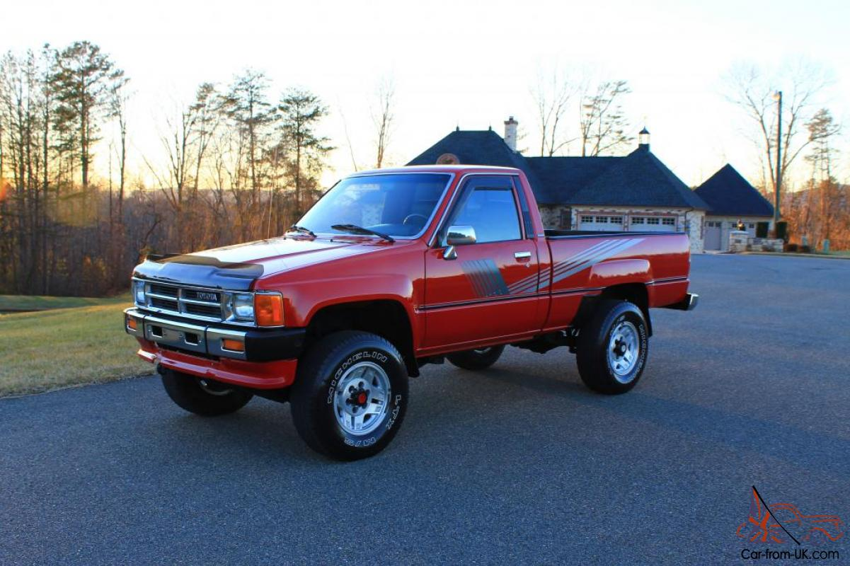87 Toyota Pickup >> 87 Toyota 4x4 Pickup 22r A C Free Shipping Time Capsule Hilux Tacoma
