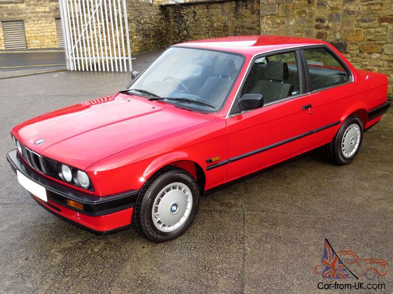 1988 Bmw E30 316i 2 Door - One Owner