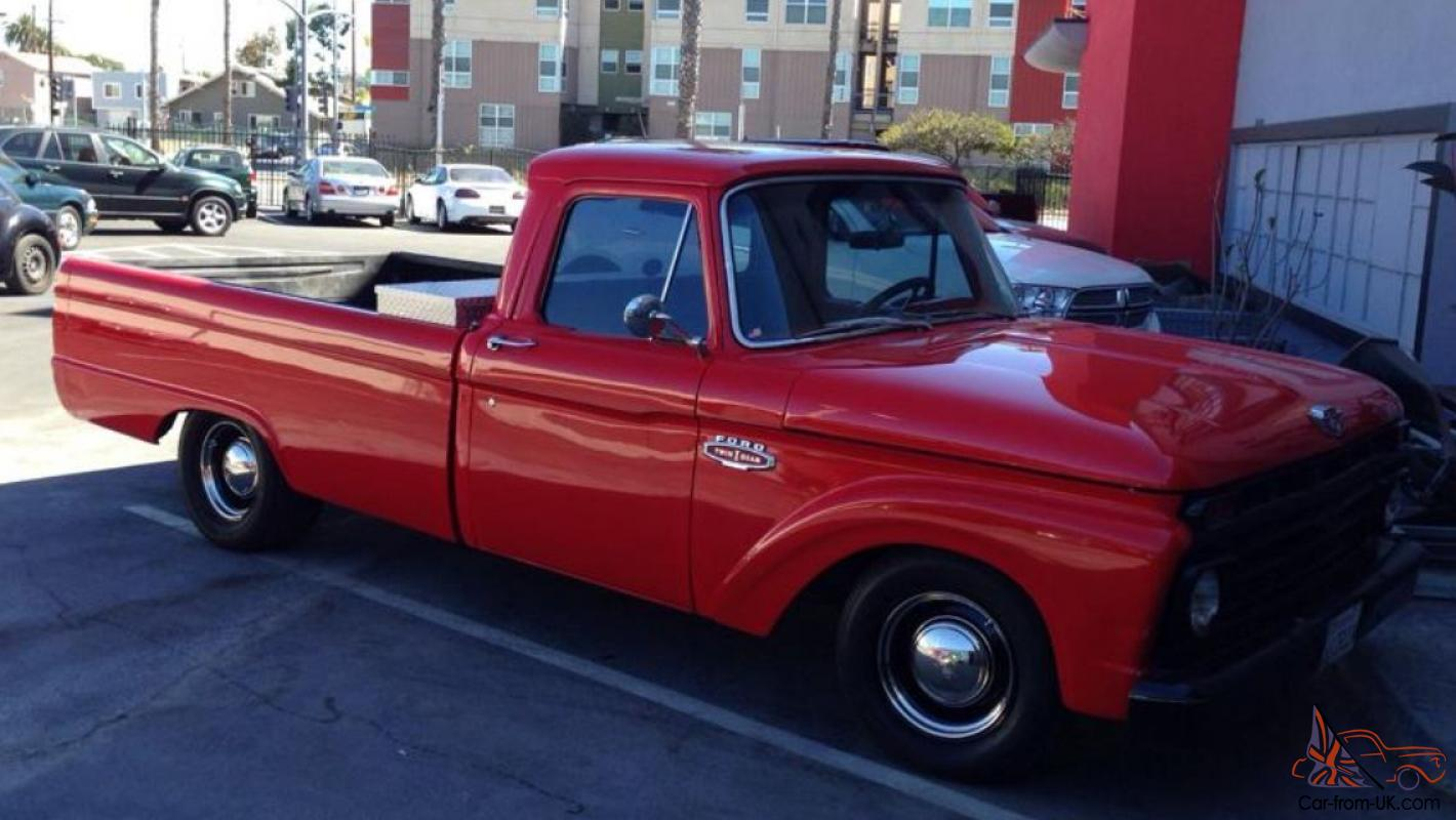 1966 Ford F100 Pickup 351 Windsor Auto Californian Import Mean