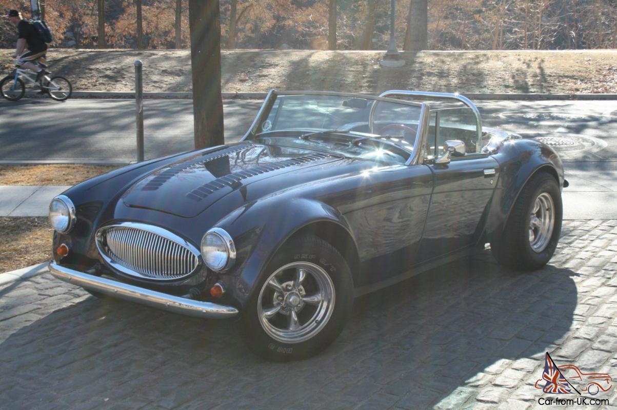1962 Austin Healey 3000 Mkii Kit Car Amazing Build 360 Hp Small Block Beautiful