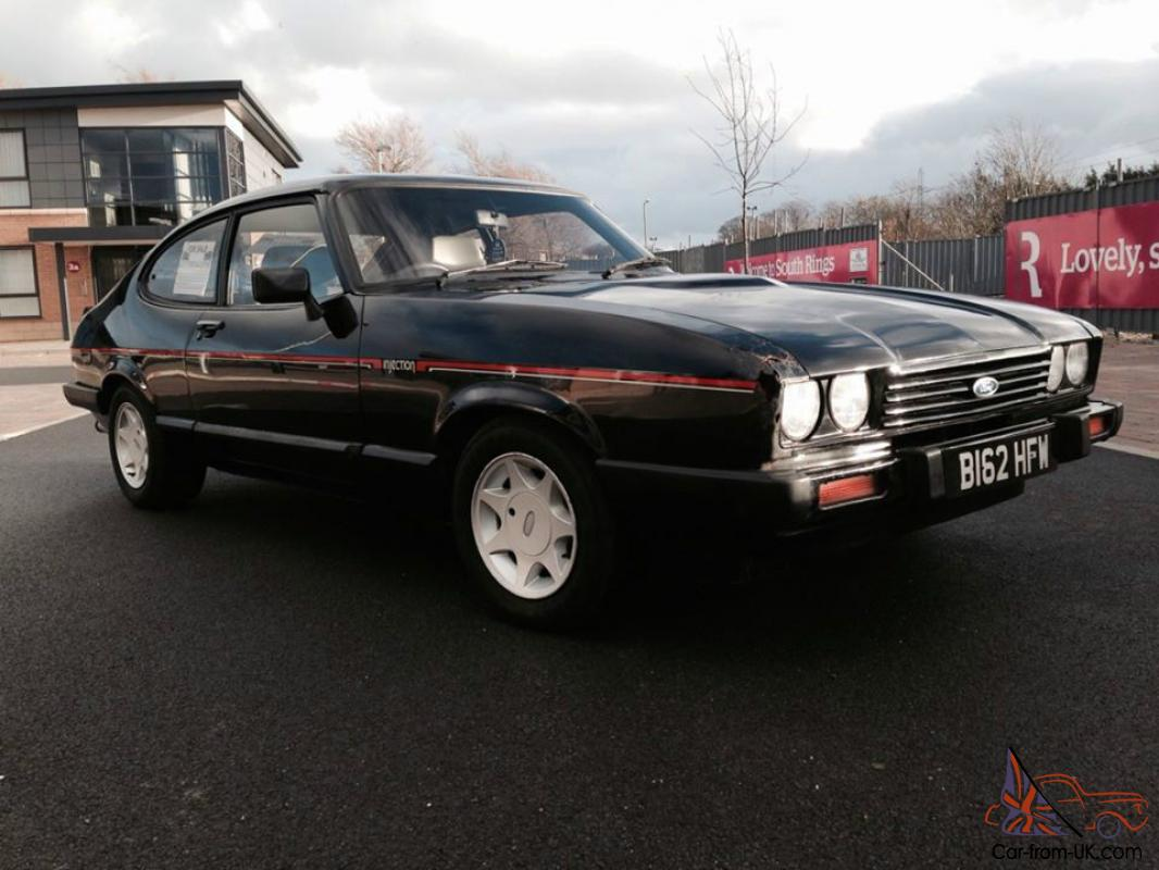 1985 Ford Capri 2 8i Injection Special Black 90k Taxed And Mot D Swap Px