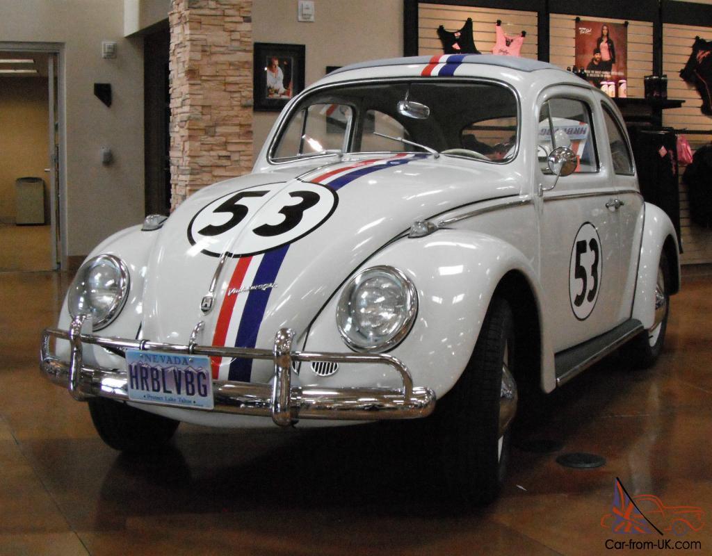 1960 VW Herbie Love Bug, Total Restore..