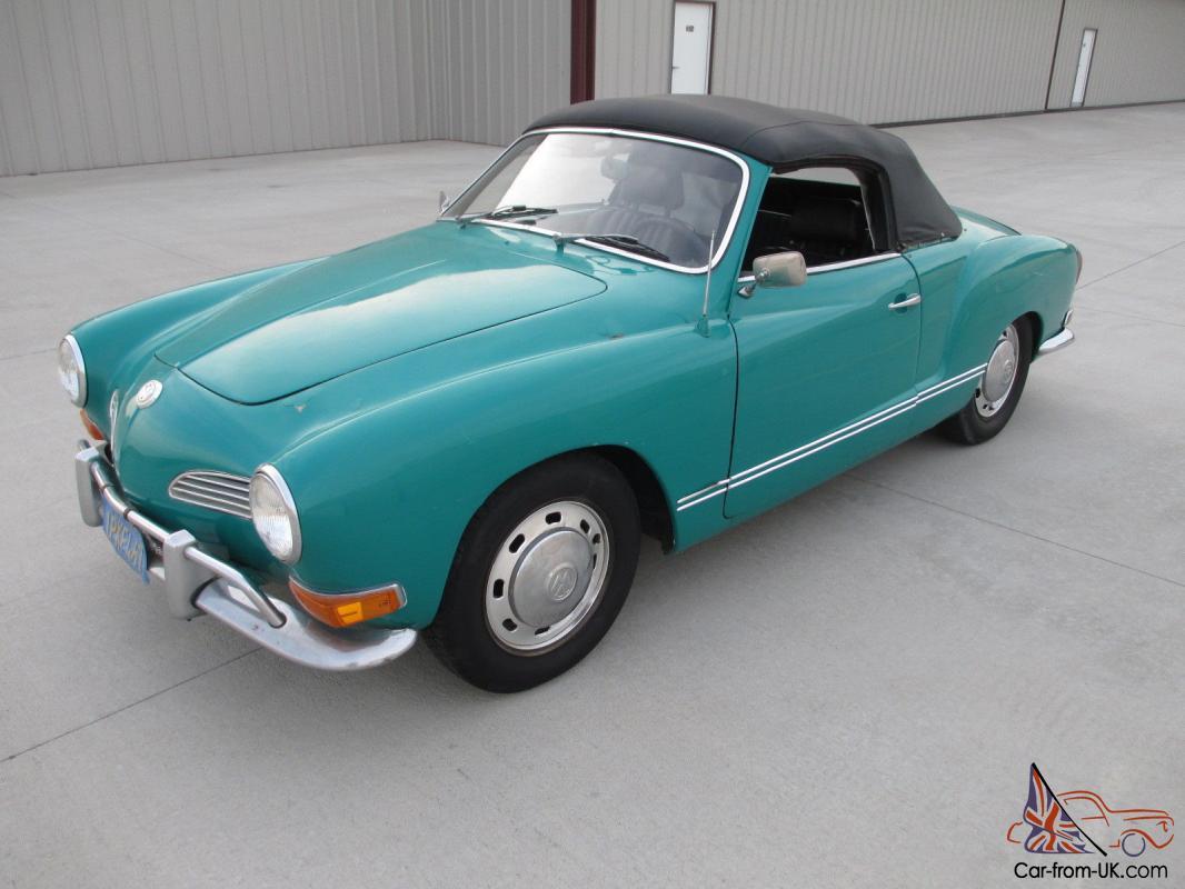 Cost To Repaint A Car >> 1970 Karmann Ghia Convertible, Nice California Car