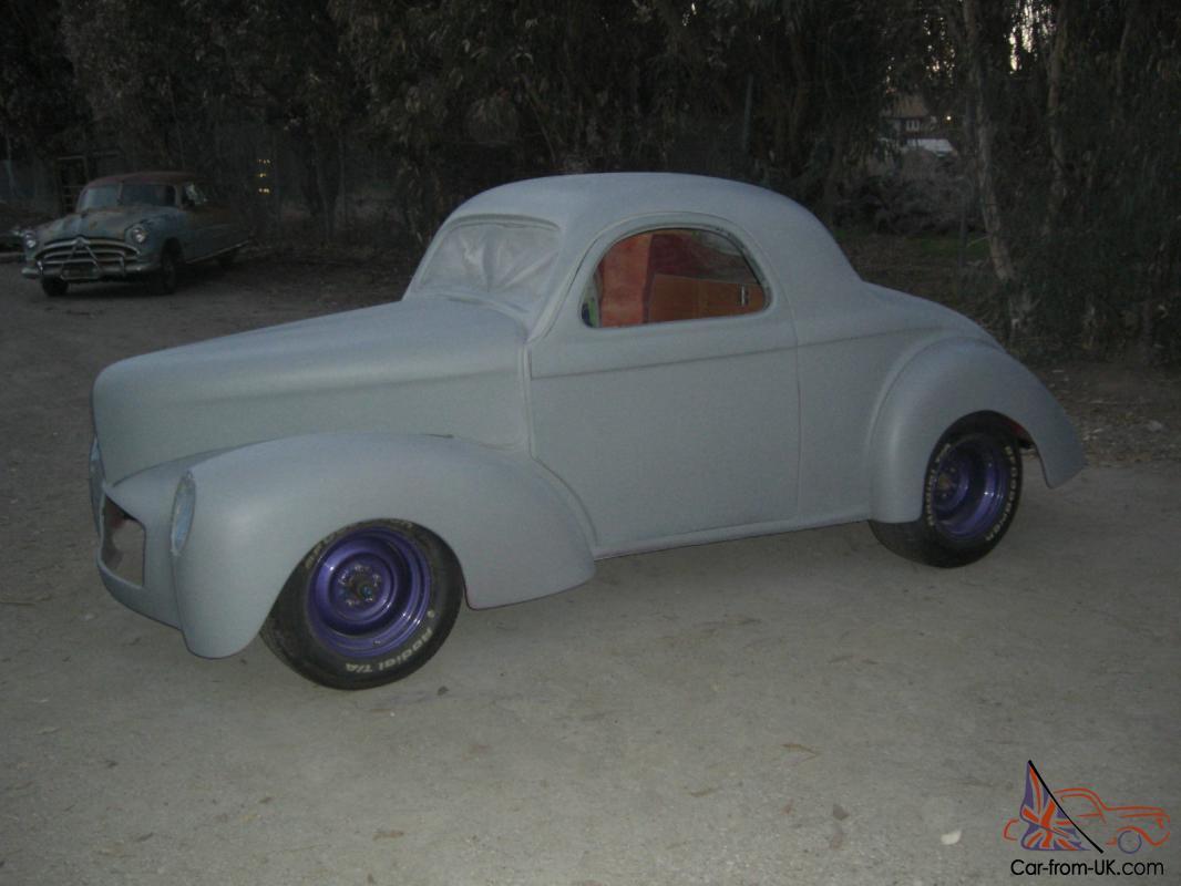 1941 Willys Glass Body