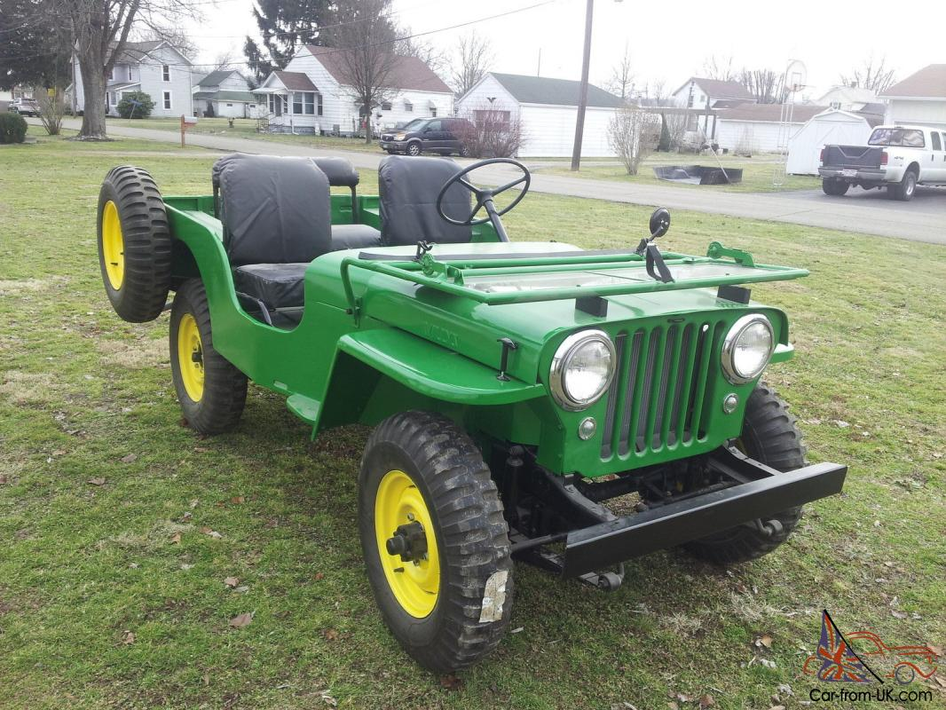 1946 Willys CJ2A Jeep fully restored like brand new!
