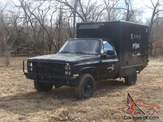 1984 Chevrolet CUCV M1010 military ambulance 5/4 ton k30 dana 60 4x4 farm