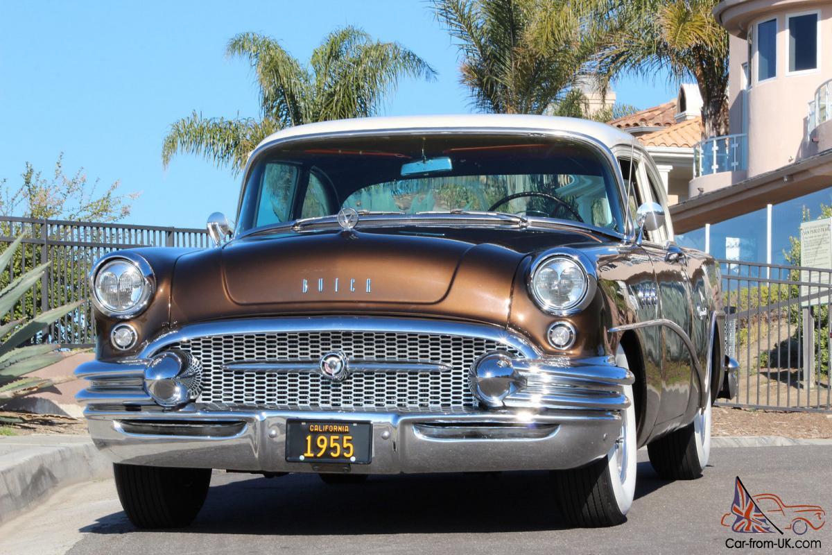 1955 Buick Special Free Shipping Majestic Restored California Original Car