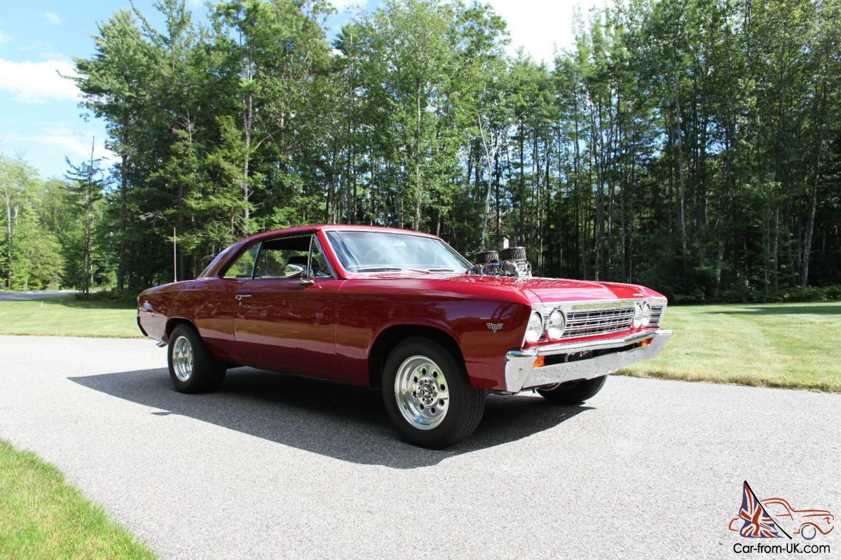 1967 chevelle 383 stroker BDS blower auto
