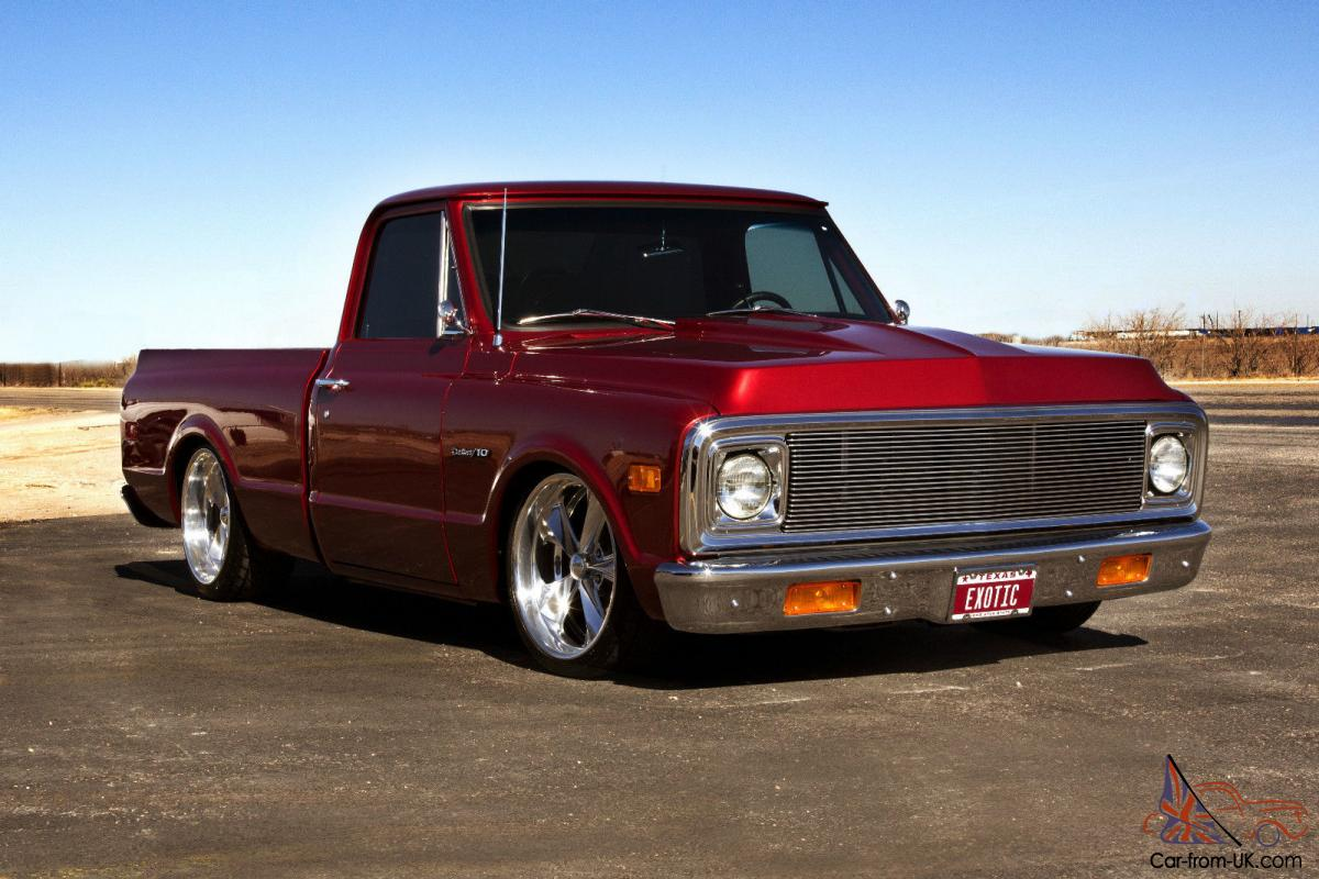 All Chevy 1969 chevy c10 for sale : CHEVROLET C-10 SHORT BED PICKUP - FRAME OFF - PRO TOURING - AIR RIDE