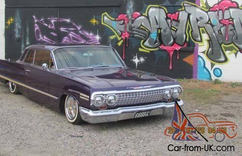 1963 Chevy Impala Lowrider 2 Door Base Hardtop Coupe - Custom
