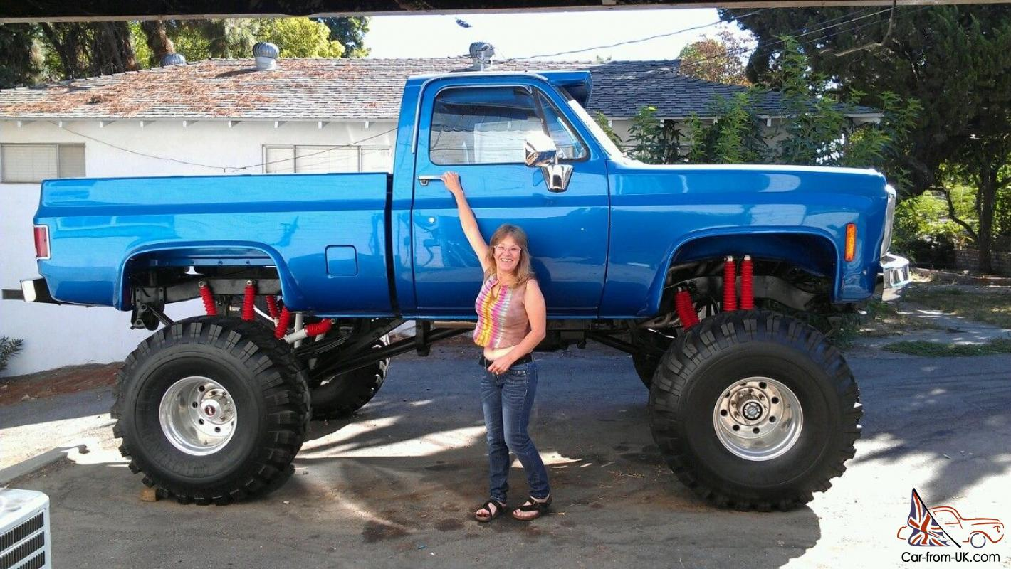 Truck chevy 1980 truck : C-10 CHEV 4x4 Custom Lifted Monster Show Truck
