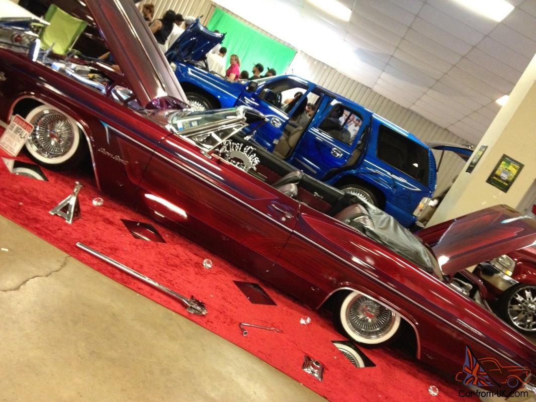 Impala, Lowrider, candy paint, chevy, old school, classic, convertible, air  ride