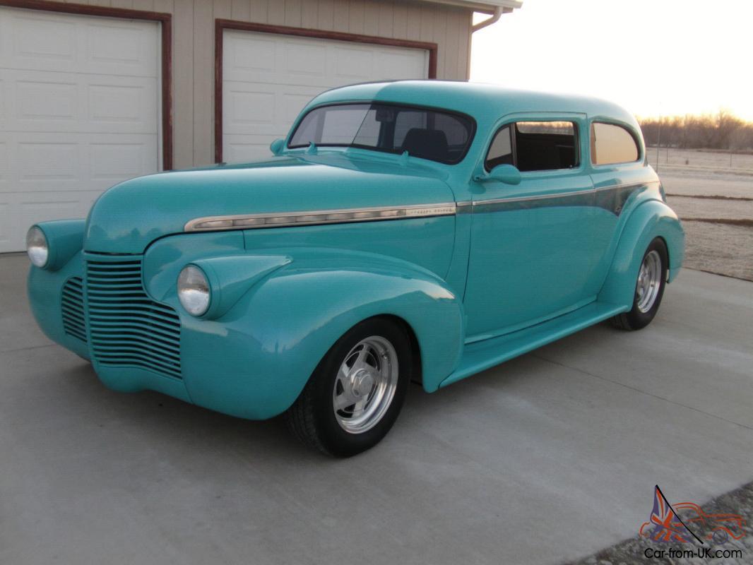 1941 Chevy Chopped Top Sedan
