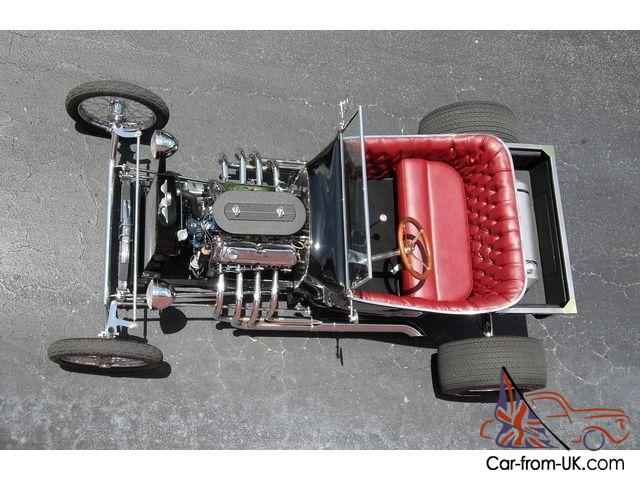ONE OF A KIND TRI-POWER, FORD 302 V8, T-BUCKET, STREET ROD, SPECIAL PARTS  USED