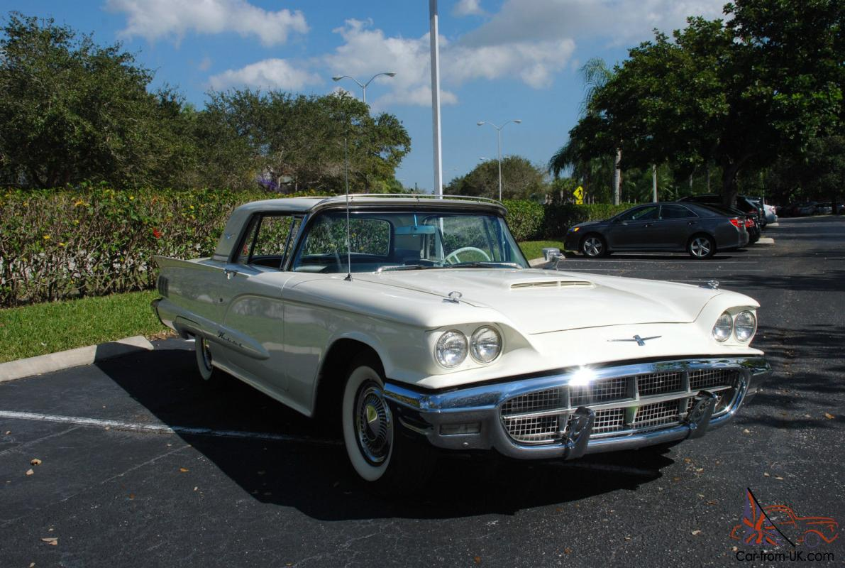 1960 Ford Thunderbird W Factory Sun Roof And 390 V8