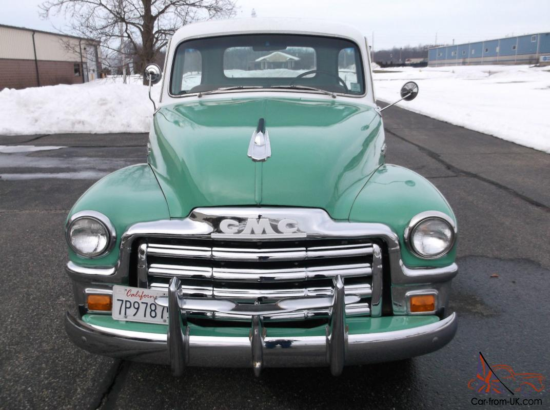 All Chevy 1954 chevy : Chevy powered GMC, Original 100% Rust Free California, 5 Winddow ...