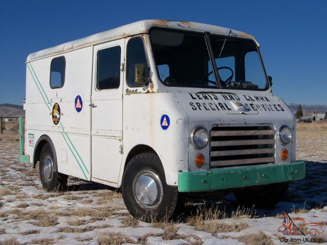 1963 International Metro Mite Step Bread Van Dry Western Survivor Time Capsule
