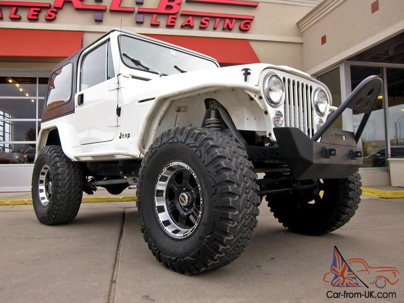 1985 Jeep Wrangler CJ7 Custom, 4k Miles, Corvette Engine, Lift Kit, Jeep Yj Wiring Harness Ebay on
