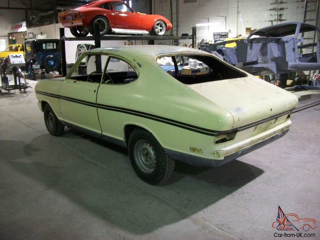 1969 Opel Kadett Rallye 4spd Restoration Investment Gt Over 400 Nos Parts