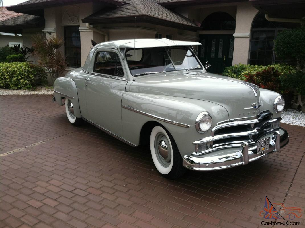 1950 Plymouth Deluxe Business Coupe 90k Orignal Miles Excellent 1941 Paint Interior