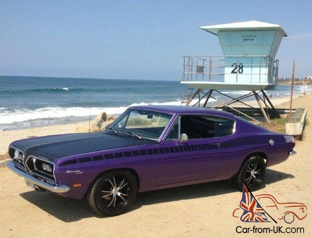 1969 Plymouth Barracuda/58k mi/PLUM CRAZY!!/Clean California Car!!