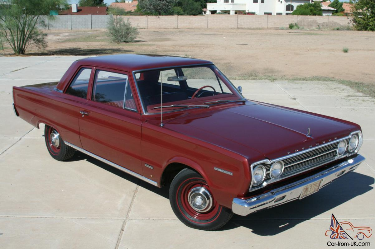 1967 Plymouth Belvedere I Hemi Post Car 4 Speed 1950s Fury