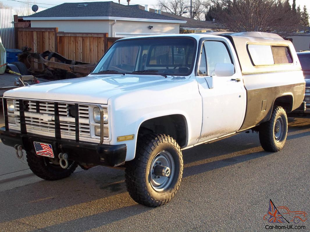 1984 Chevrolet M1008 CUCV D30 4x4 Military Truck *39,000 Original Miles*
