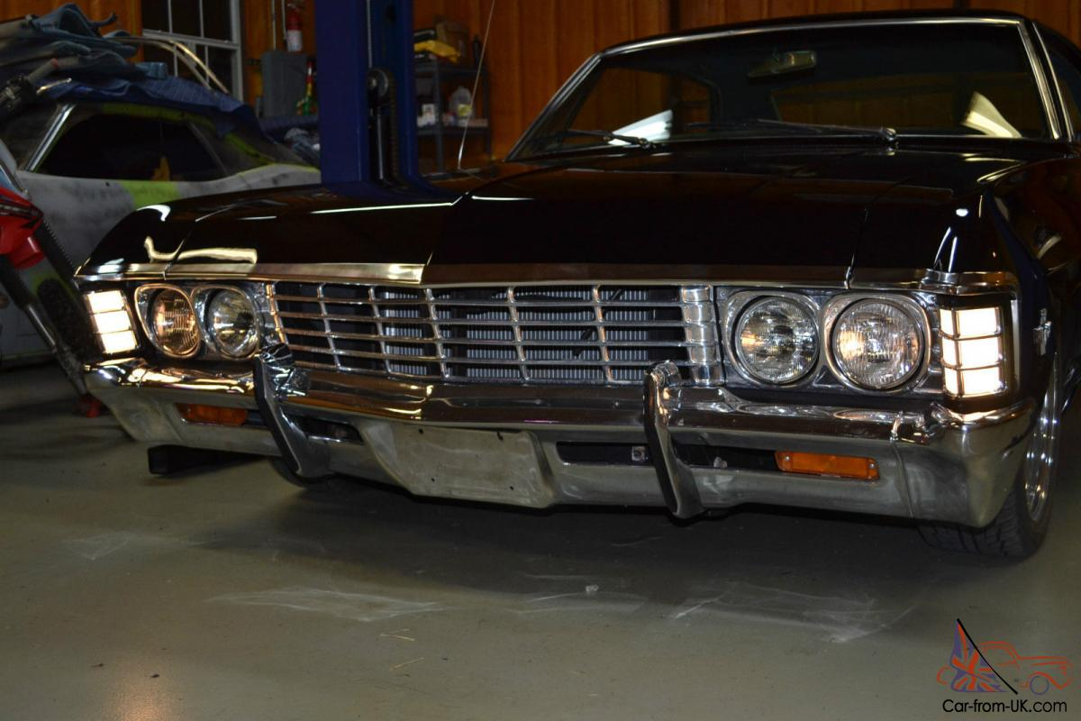 1967 Chevrolet Impala Sport Sedan Supernatural Metalicar Baby 4 Door No Post Car