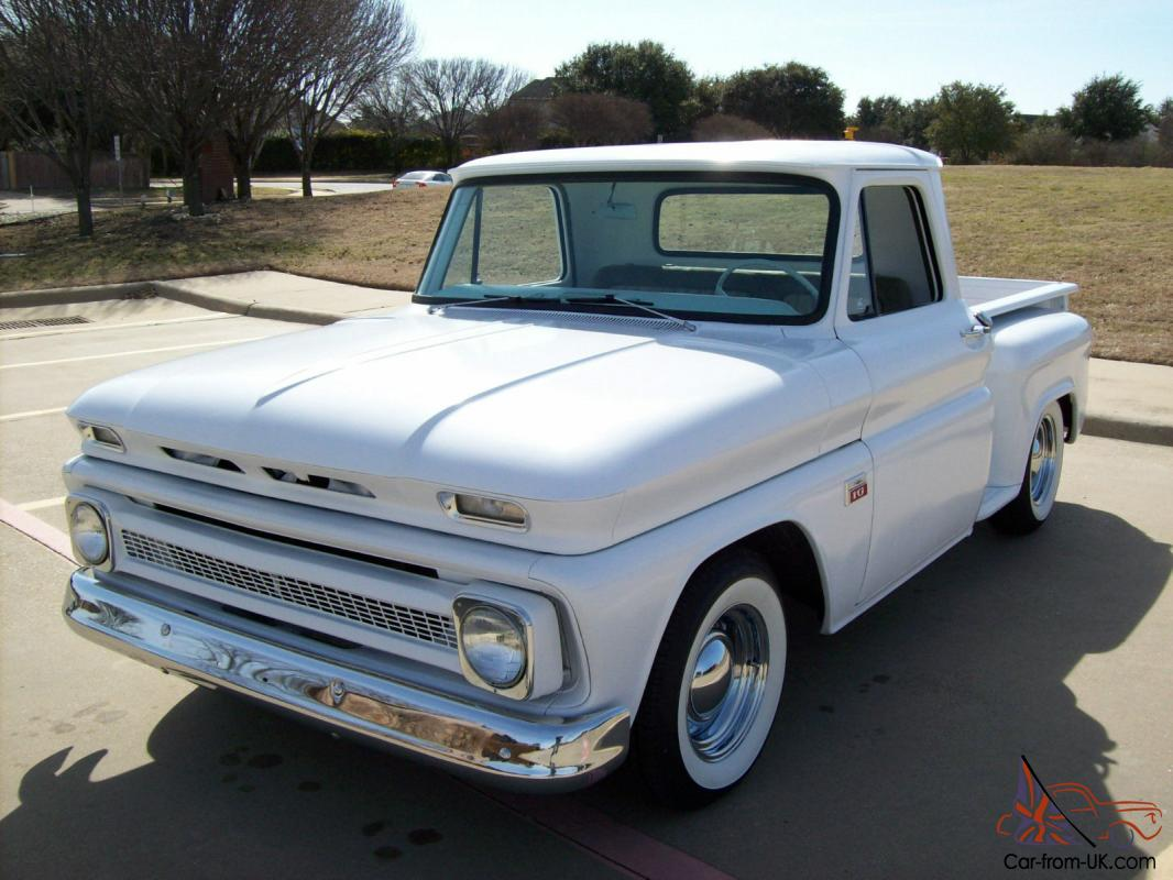 1966 Chevy Truck C10 Shortbed Stepside Hot Rod Street V8 Chevrolet Crew Cab Photo