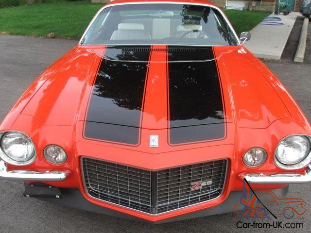 1970 1/2 Camaro RS split bumper